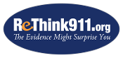ReThink911 Stickers: 2-in. Oval