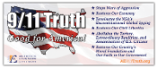 Vinyl Banner – 9/11 Truth: Good for America