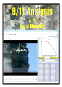 DVD Cased 9/11 Analysis DVD with David Chandler