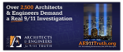 Architects & Engineers Demand Investigation Rectangular Vinyl Banner
