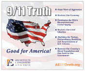 9/11 Truth: Good for America Vinyl Sidewalk Banner