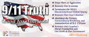 911 Truth: Good for America Rectangular Vinyl Banner