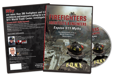 DVD Firefighters Architects & Engineers – Expose 9/11 Myths