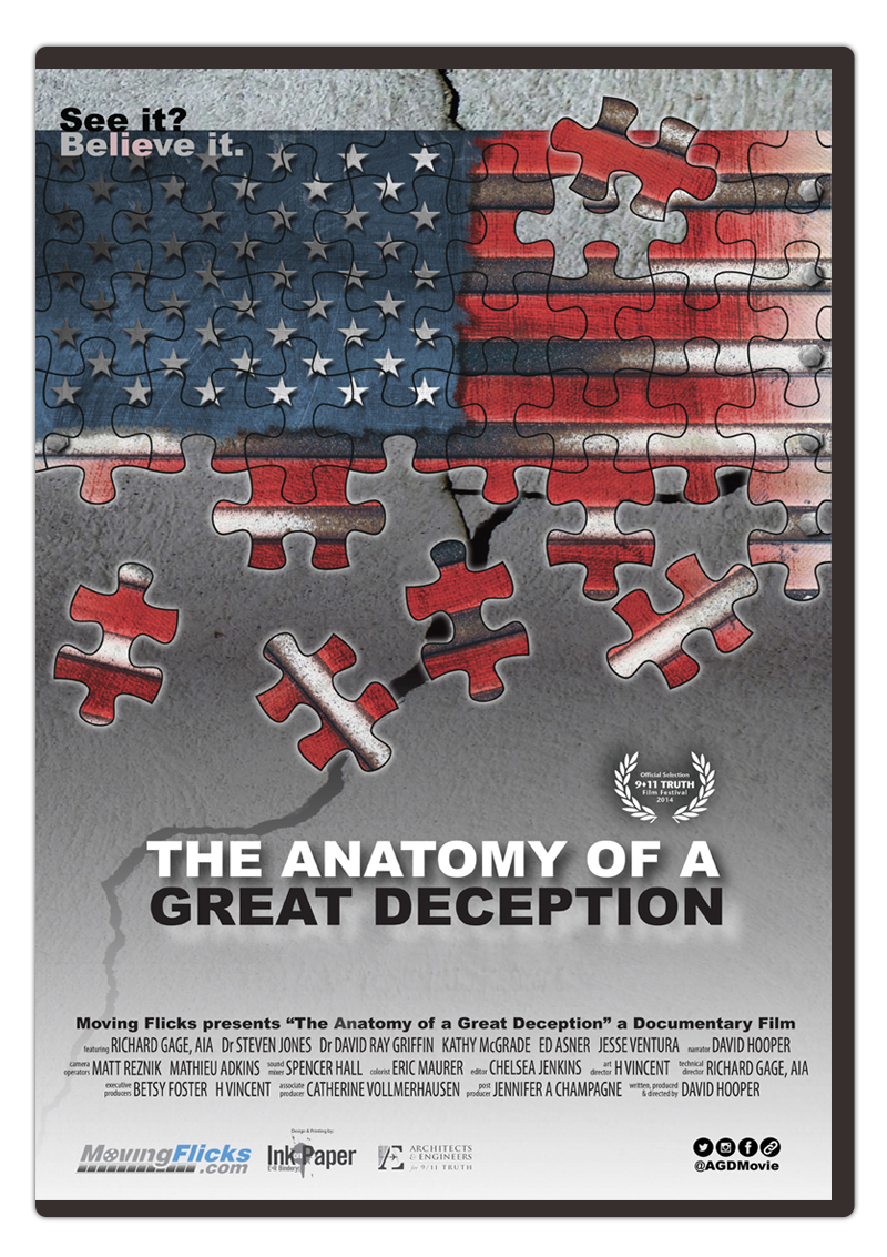 Dvd The Anatomy Of A Great Deception David Hooper